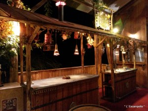 Le bar de l'Escampette