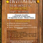 Rencontres de permaculture Haute-Normandie dans le Marais Vernier