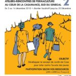 stage de permaculture tropicale à Kabadio, Casamance, Sénégal du 3 au 12 décembre 2018