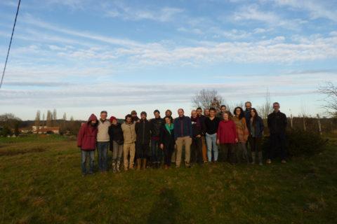 Un CA sous le signe de l'union ! Brin de Paille et l'UPP étaient réunis du 17 au 19 Janvier 2020 à la ferme de Sourrou
