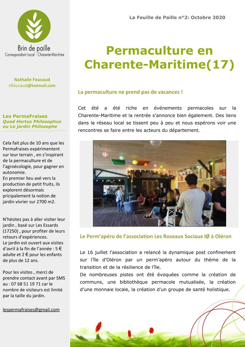 La permaculture en Charente-Maritime