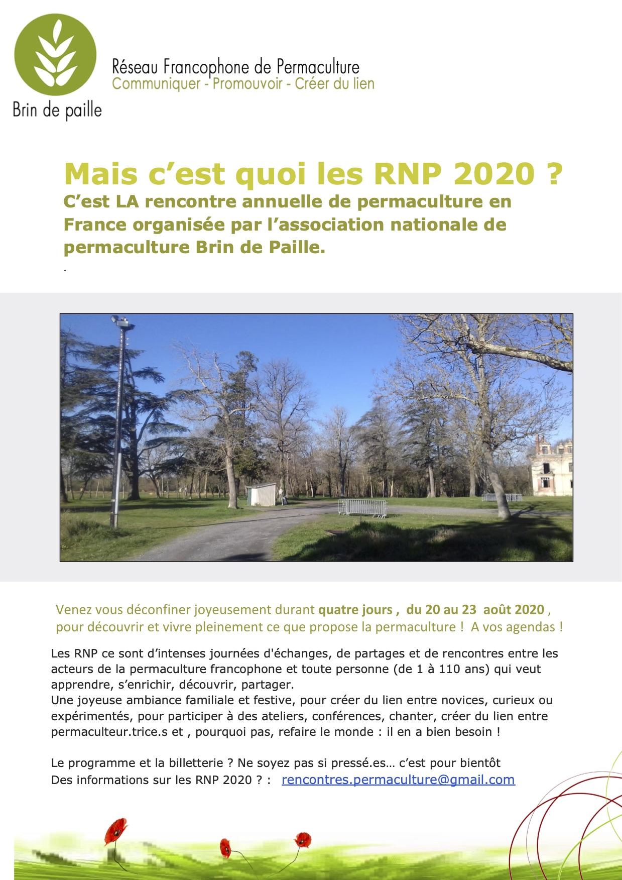 Les Rencontres Nationales de Permaculture 2020 reportées à 2021 !
